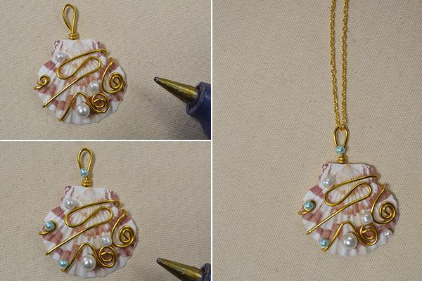 diy necklace pendant - photo #18