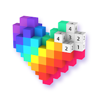 Voxel – 3D Color by Number & Pixel Coloring Book Mod Apk