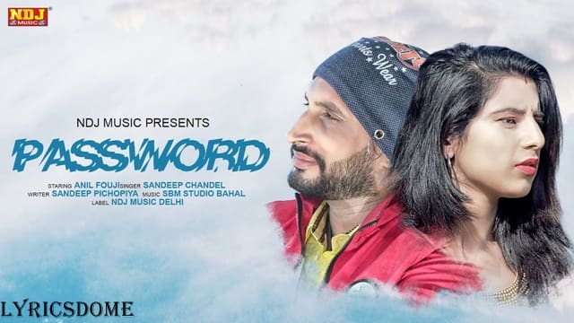 Password Lyrics - Sandeep Chandel