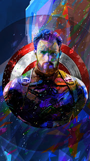 Captain America Mobile HD Wallpaper