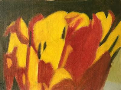 composing values study of tulip block in
