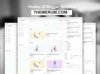 Median UI Responsive Blogger Template