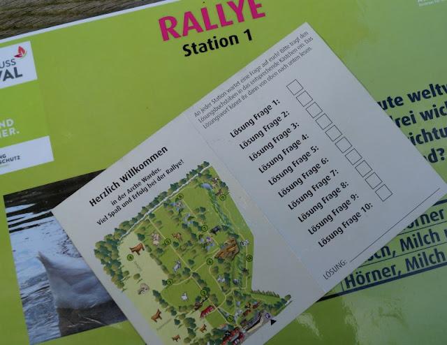 Naturgenuss pur: Der Tierpark Arche Warder. Die Rallye, veranstaltet vom Naturgenussfestival, ist spannend und führt durch den gesamten Tierpark.