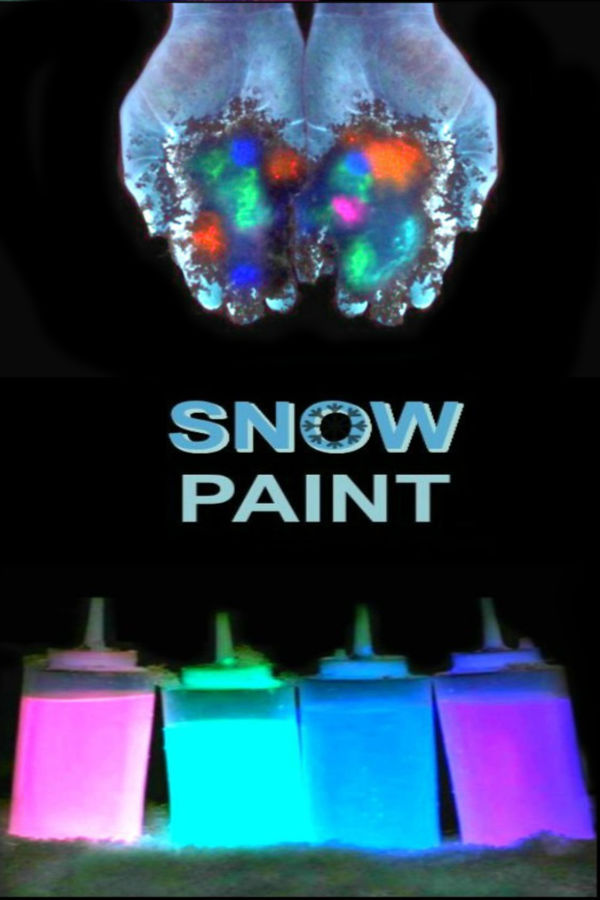 "MAKE SNOW GLOW!  How ""cool!"" Can't wait to try this! #glowsnowman #glowsnow #snowrecipesforkids #snowpaint #snowpainting #snowpaintingforkids #snowrecipes #glowinthedarksnow"
