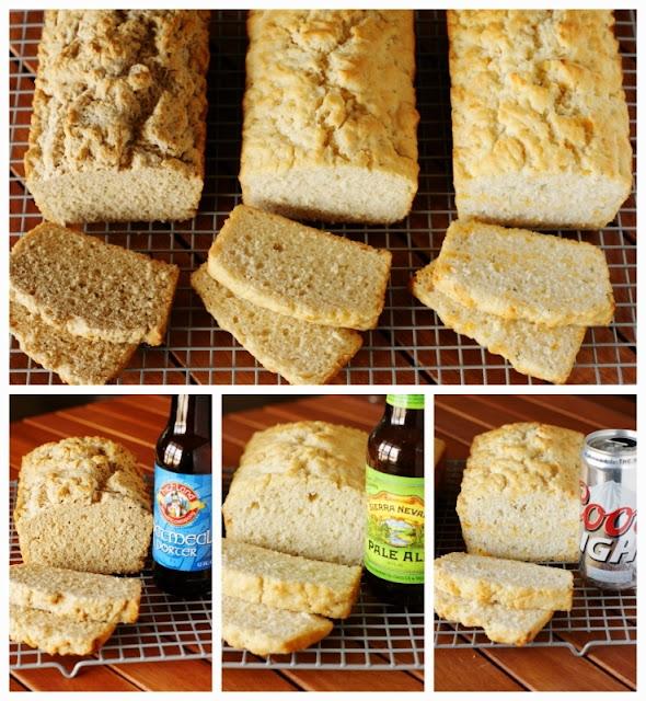 Beer Bread - Beer Comparison