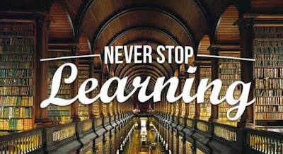 Innovative sentences on the continuous learning and growth