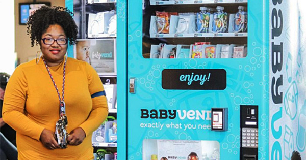 Jasmin Smith, founder of Baby Vend