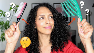 Denman Brush vs Wide Tooth Comb on Fine Curly Hair What Is Better