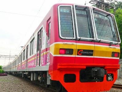 Gambar KRL Commuter Line Jabodetabek