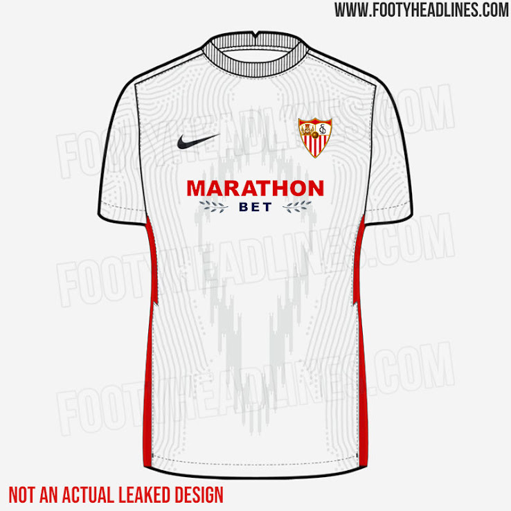How Nike S Fc Sevilla 21 22 Kits Could End Up Like If Again Based On Teamwear Footy Headlines