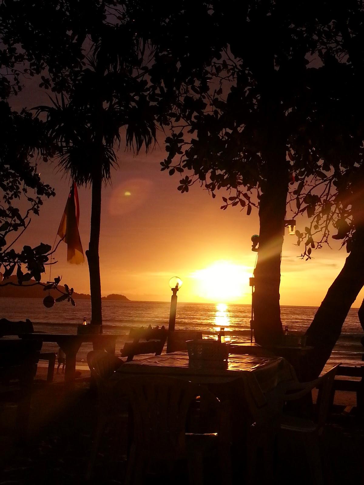Sunst at Patong Beach