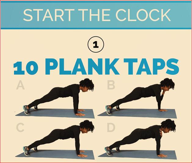 10 Plank Tabs
