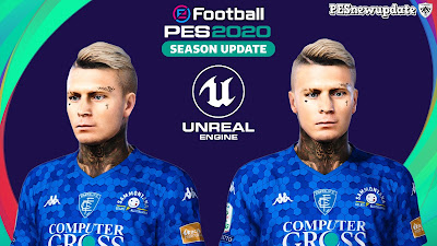 PES 2020 Tattoo Amato Ciciretti by SuperNova