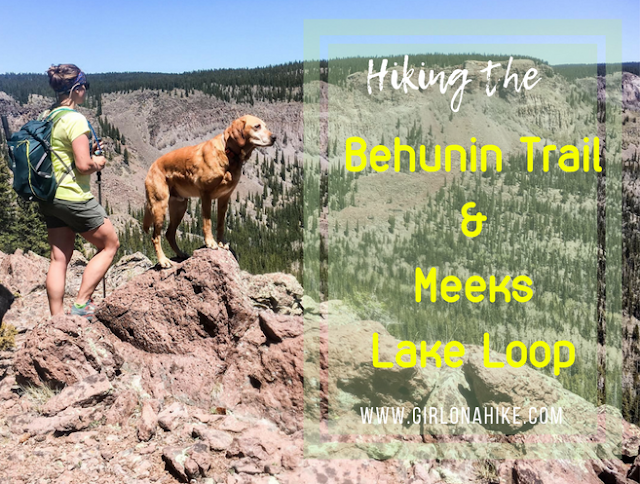 Hiking the Behunin Trail and Meeks Lake Loop, Boulder Mountain