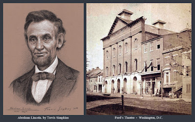 Abraham Lincoln. 16th President of the United States. Ford's Theatre. by Travis Simpkins