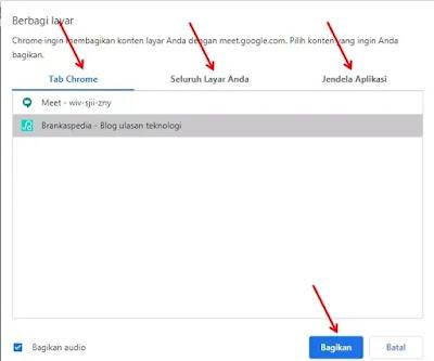 Cara Share Screen (Berbagi Layar) di Google Meet-3