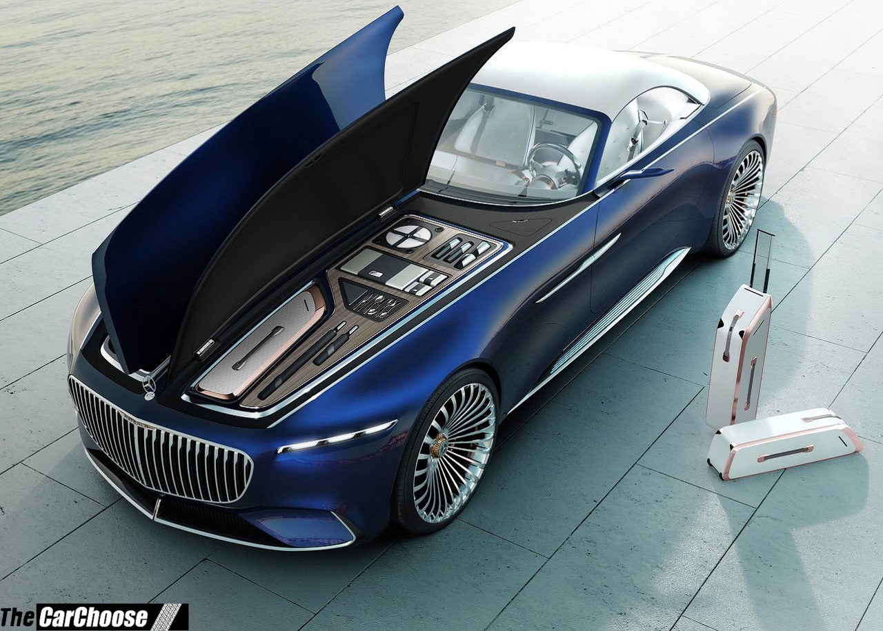 2017 2018 Mercedes Benz Vision Maybach 6 Cabriolet Concept Review