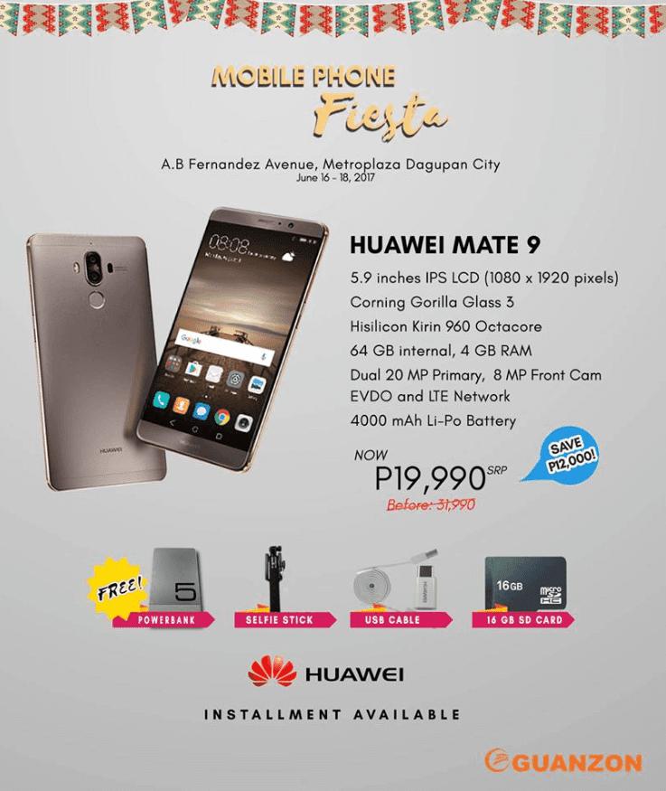 Huawei Mate 9 Sale Promo