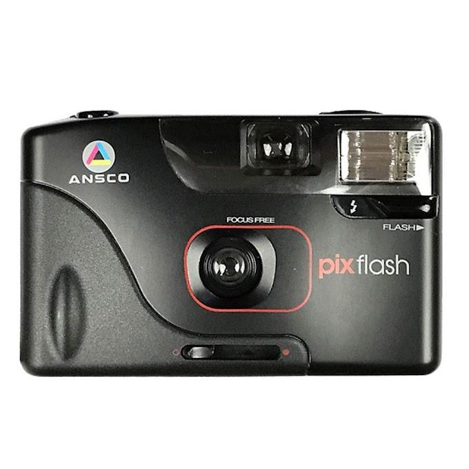 Film Camera Vintage Point & Shoot Auto Focus - Halina Ansco Pix Flash 35mm - Update Camera