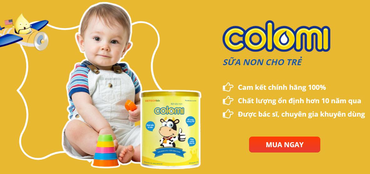 Sữa Non Colomi cho bé
