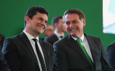 Crimes continuam em queda com Jair Bolsonaro e Moro