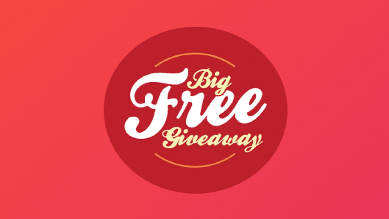 big free giveaway earn money to claim raffle tickets everyday