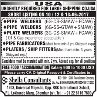 Job vacancies in Shipping company in USA