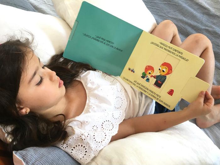 cuentos infantil edelvives, las emociones Alice Le Hénand pestañas