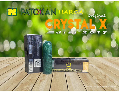 ilustrasi harga crystal x nasa