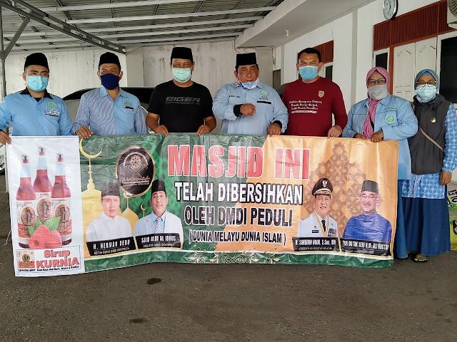 Aksi Peduli Herman Deru Ketua DMDI Indonesia Kepada Para  Korban Bencana Banjir  Bandang Kalsel Diapresiasi Gubernur Sahbirin Noor