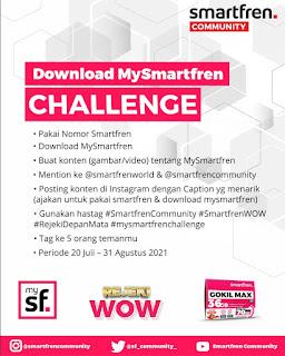 Download Smartfren ikutan Challenge-nya