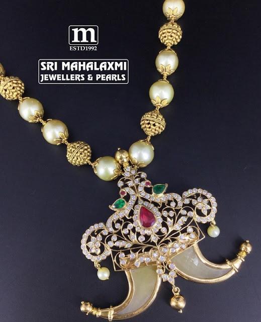 Diamond Tiger Claw Pendant