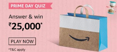 Amazon Prime Day Quiz