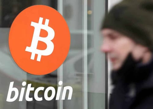 Bitcoin is down more than 10% to under $ 55,000