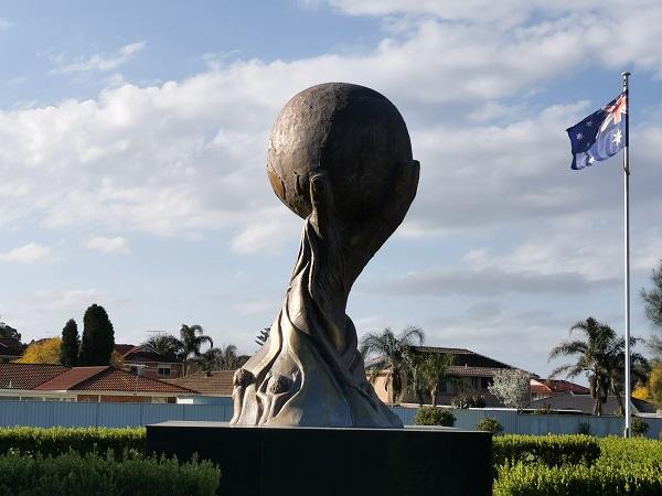 Assyrian Genocide Memorial Statue by Lewis Batros | Edensor Park