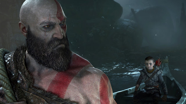 Kratos y Atreus - God of War PS4