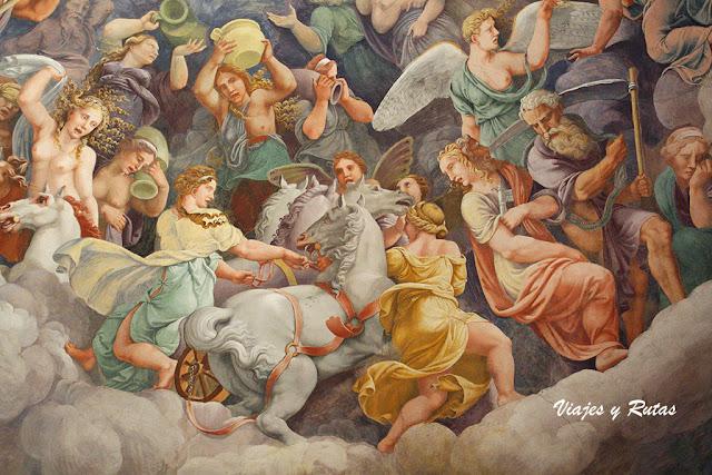 Sala dei Giganti, Palacio Te, Mantua
