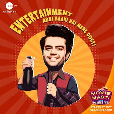 Movie Masti With Manish Paul Comedy Tv Show Zee TV | Movie Masti With Manish Paul Star Cast, Celebrities List