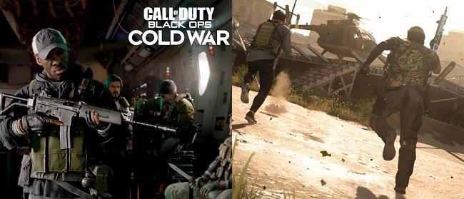 Comparison in COD Cold War vs COD Warzone