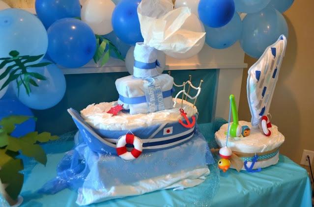 Beach-Themed Baby Shower ideas