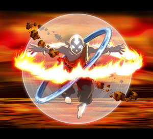 Avatar the Last Airbender Aang Avatar State
