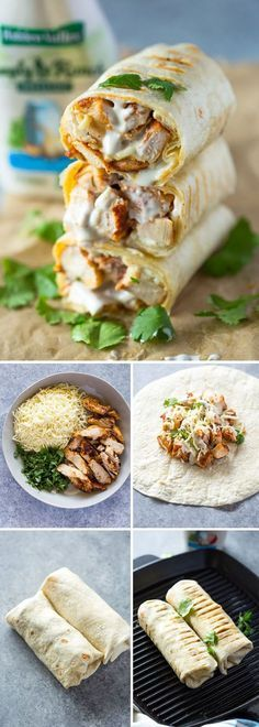 CHICKEN RANCH WRAPS #recipes #dinnerideas #easydinnerideas #easysaturdaydinnerideas #food #foodporn #healthy #yummy #instafood #foodie #delicious #dinner #breakfast #dessert #lunch #vegan #cake #eatclean #homemade #diet #healthyfood #cleaneating #foodstagram