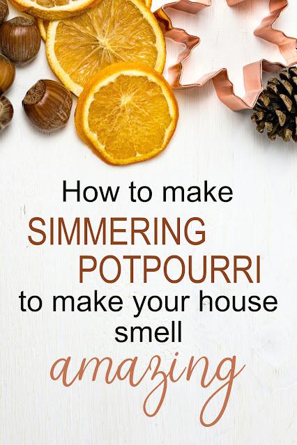 Autumn-scented simmering potpourri