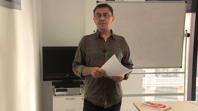 Monedero denuncia amenazas de la extrema derecha en la puerta de su despacho en la Complutense