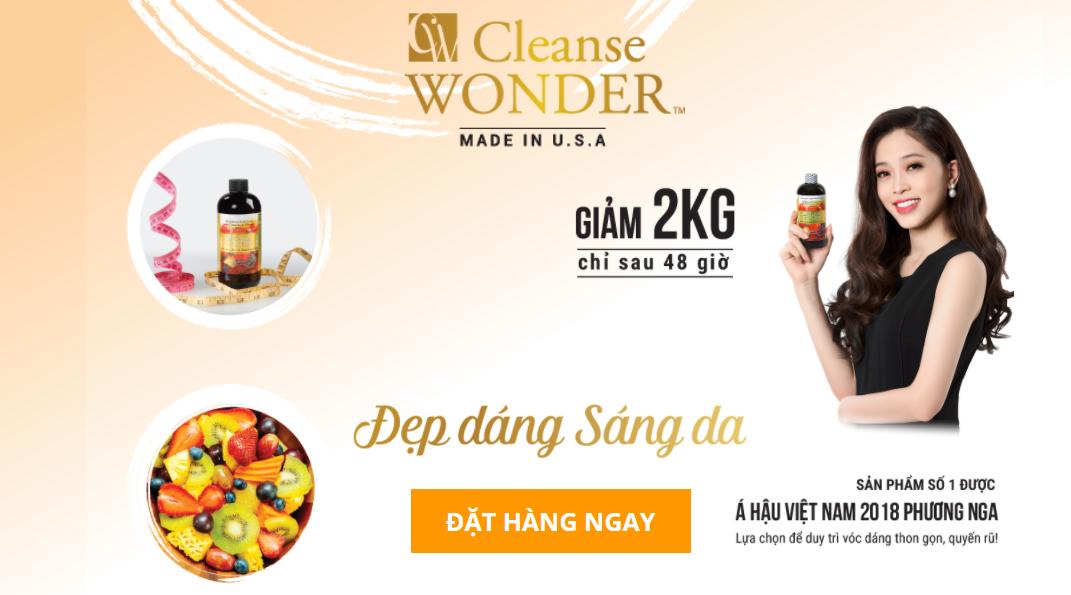 Cleanse Wonder - Nước giảm cân