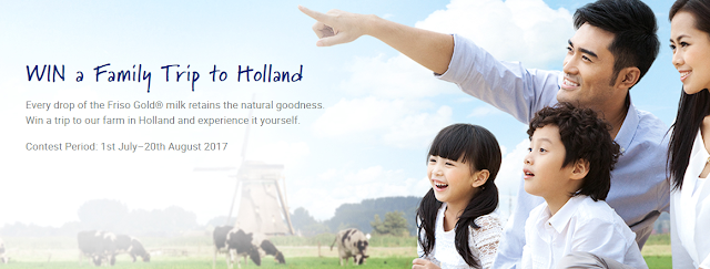 Win a family trip to Holland!