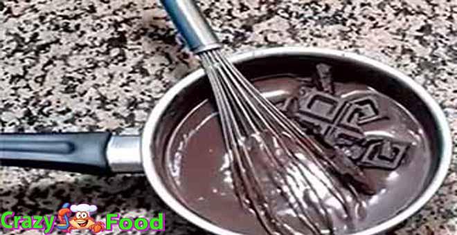 صلصة الشوكولا