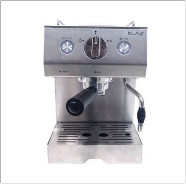 Klaz Coffee Maker Espresso Cappucino Latte;Coffee and Cappuccino Maker In One;
