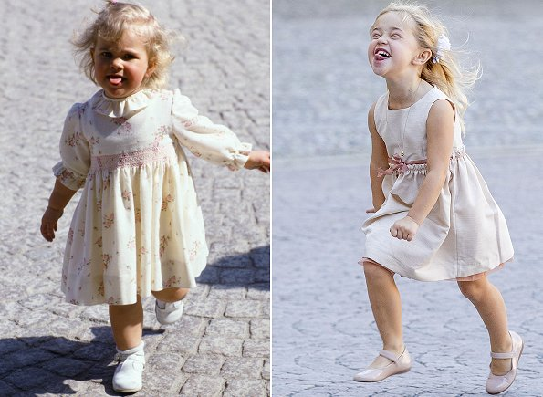 Mother and her daughter: Princess Madeleine and Princess Leonore