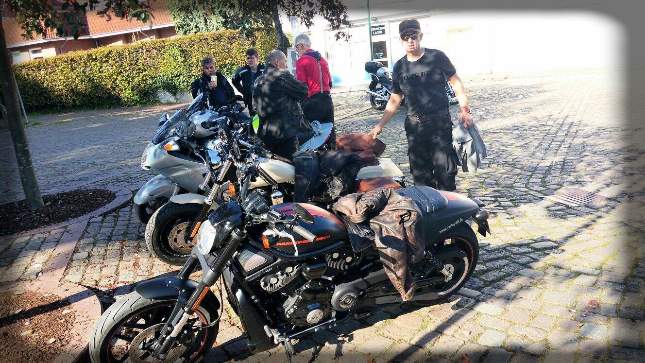 Corona Motorradfahren